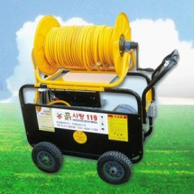 [흙사랑119] 75A모터밀차(농축산용방역장비)/SOL-AM103-6/10*100M