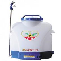 [흙사랑119] 배부식충전분무기/모델명:SOL-HP2010/탱크용량20(L)